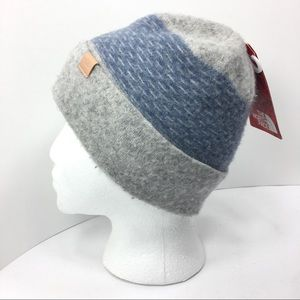 9a180190e4d The North Face Accessories - North Face Felted Wool Beanie L XL Uni Gray  Blue